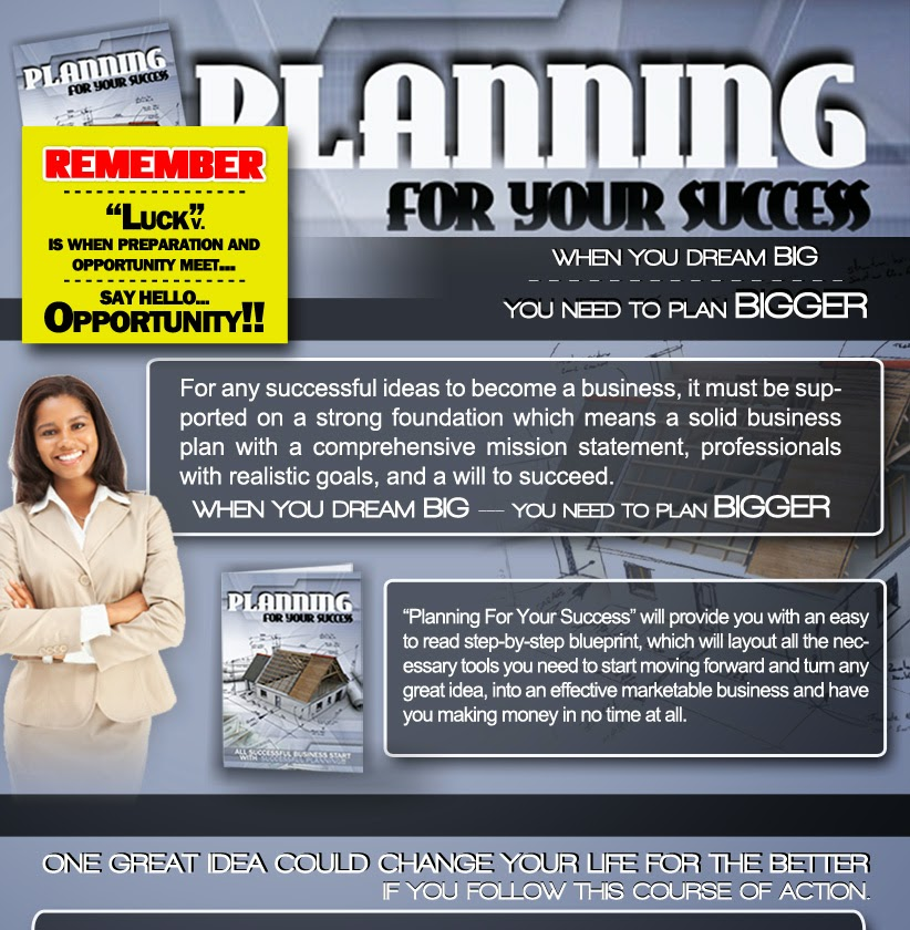 Planning for your success - buy now!