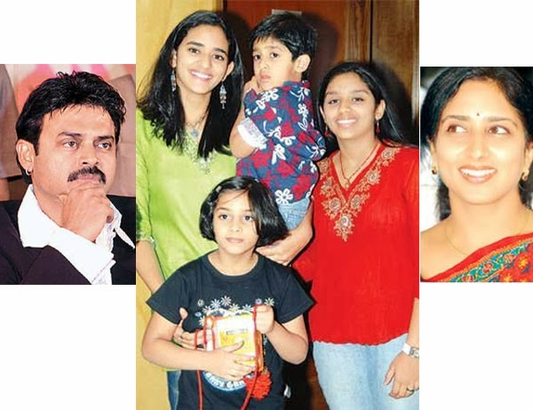 Arjun Son of Venkatesh Venkatesh With His Son Arjun