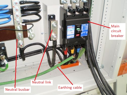 electrical installations neutral link pictures here is the neutral link of the main incoming circuit breaker