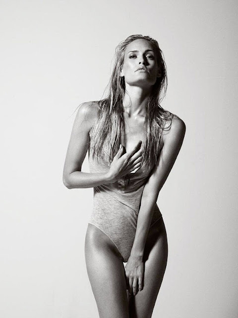 Vibe Sorenson Covered Topless Photoshoot by Henrik Adamsen for Euroman Magazine