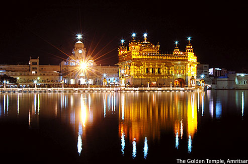 The Golden Temple Amritsar Punjab Beautiful Places Location Pictures Images