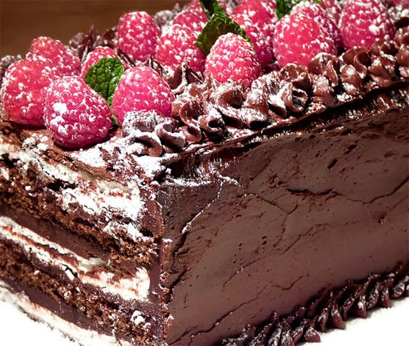 Holiday Cake Recipes Pictures : Chocolate Christmas Cake - HD Wallpapers Blog