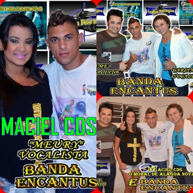 MACIEL CDS E BANDA ENCANTOS