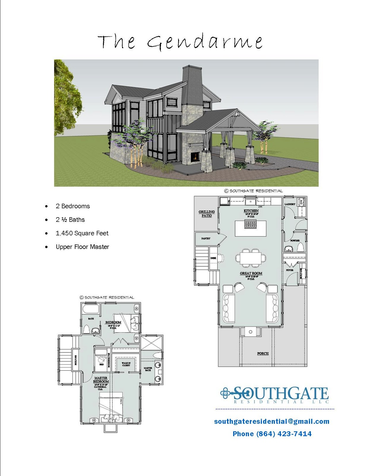 Southgate residential pre designed plans for Blueprints for homes already built