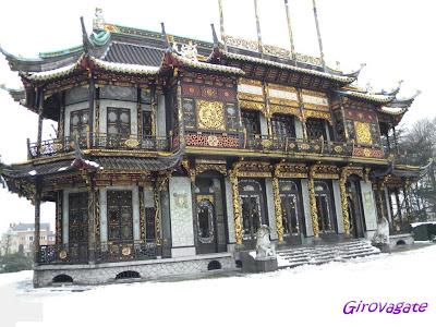 padiglione cinese Bruxelles Domaine Laeken