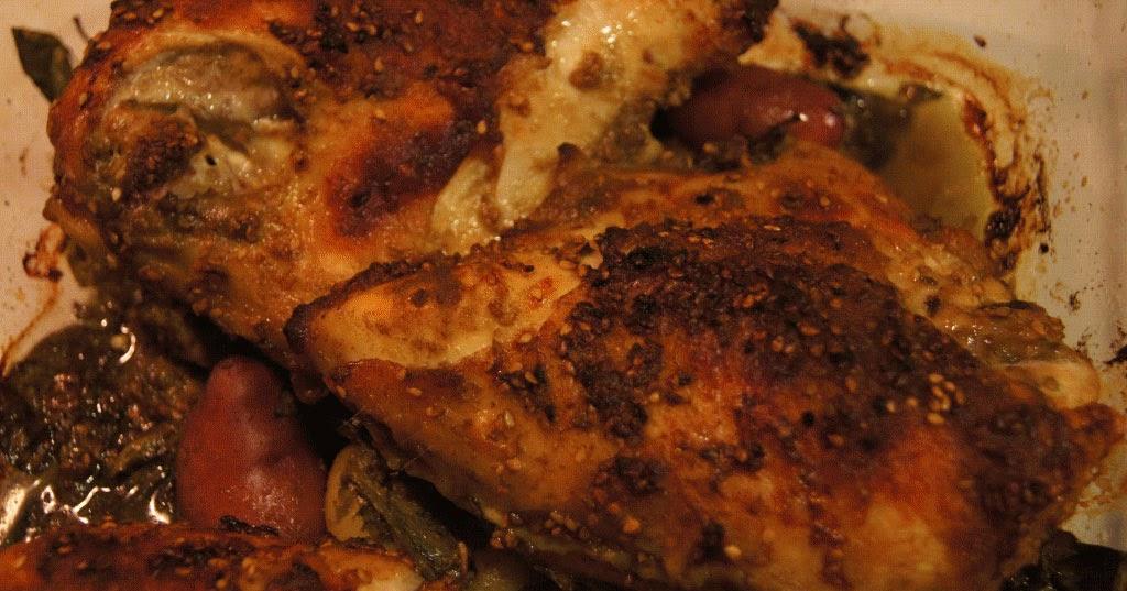 Cuisses de poulet en papillote - marmitonorg