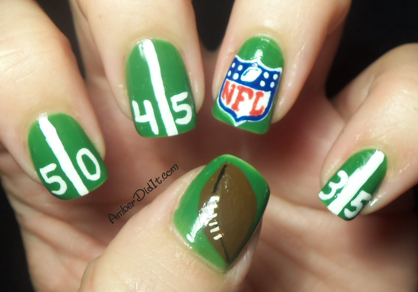 Amber did it!: Are You Ready For Some Football?