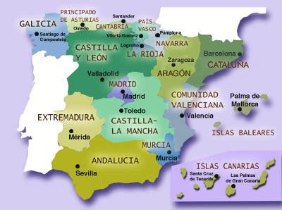 las communidades autonomas en espana essay La descentralización educativa en españa una mirada comparativa a los sistemas escolares de las comunidades autónomas.