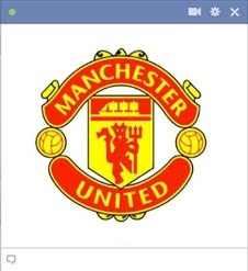 man utd crest Kode Emoticon Chat Facebook Klub (Team) Sepakbola