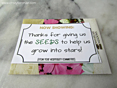 thanks for giving us the seeds to help us grow into stars printable