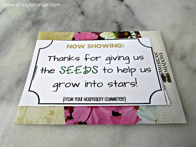 thanks for giving us the seeds to help us grow into stars printable