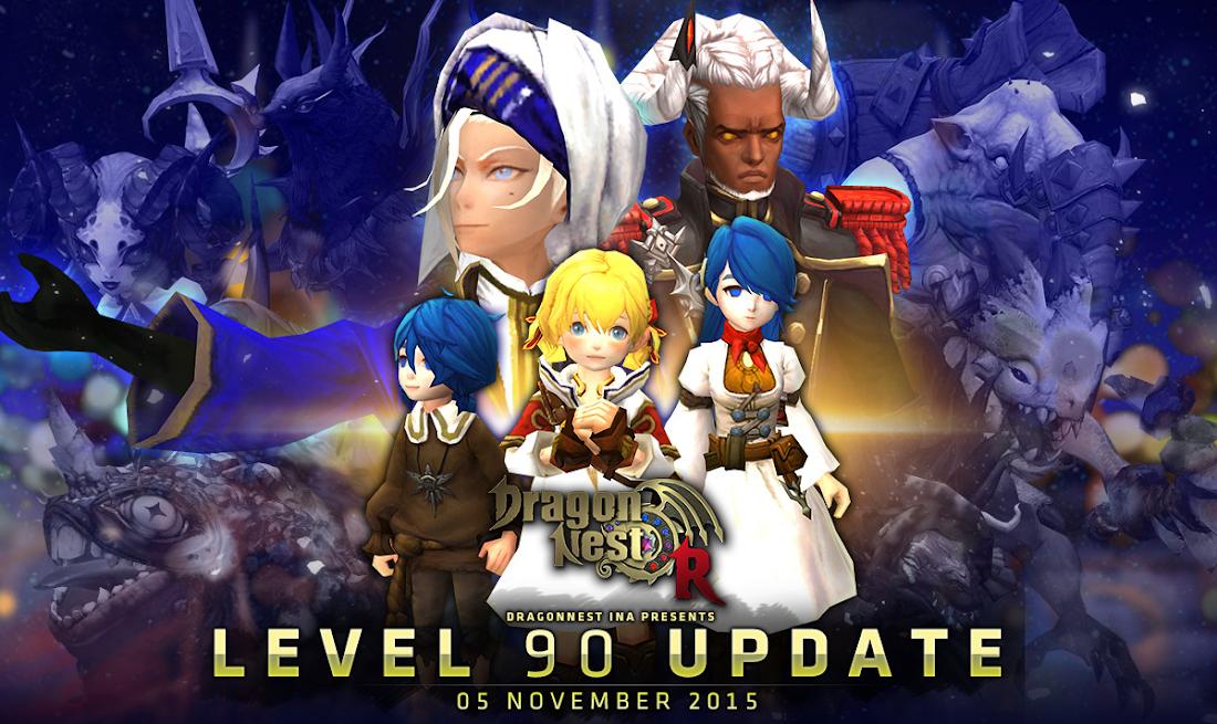 Akhirnya, Dragon Nest Hadirkan Update Level 90
