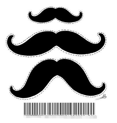 Ponles bigotes a los invitados de tu fiesta | Pai, Babies and Fiestas