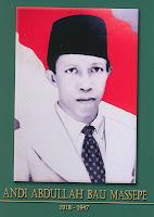 gambar-foto pahlawan nasional indonesia, Andi Abdullah Bau Massepe