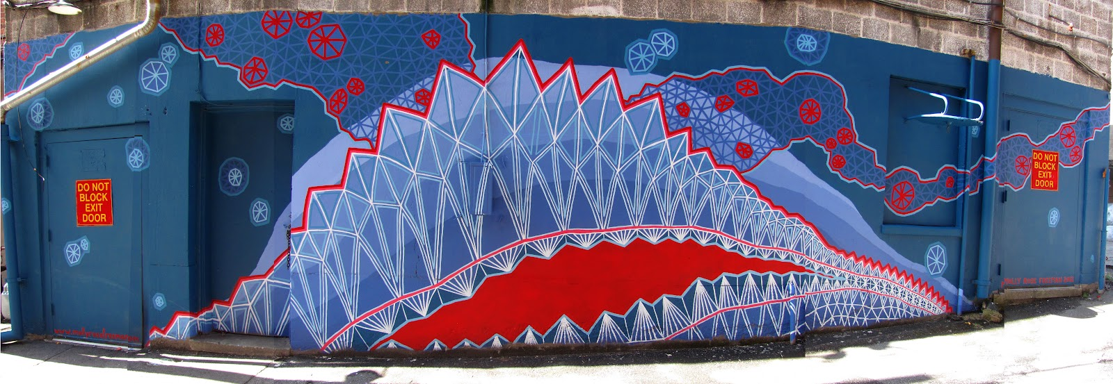 Molly rose freeman public art for Asheville mural project