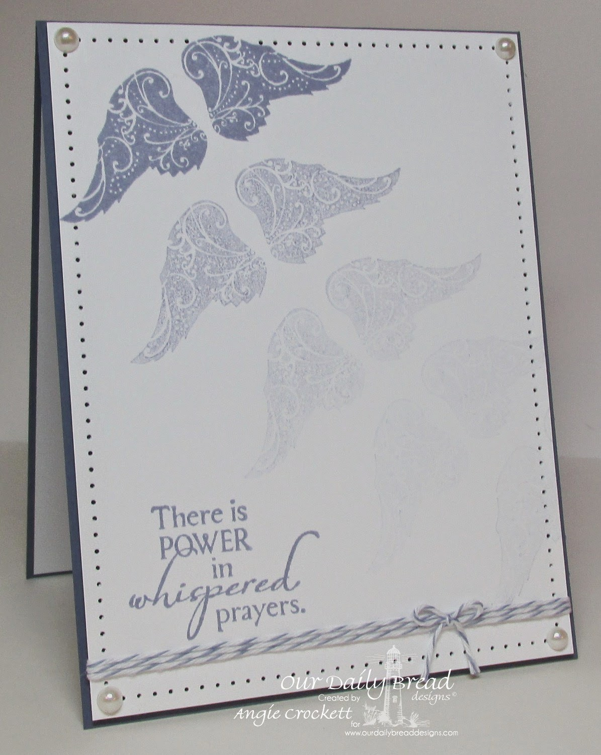 ODBD Holy Angels, Card Designer Angie Crockett