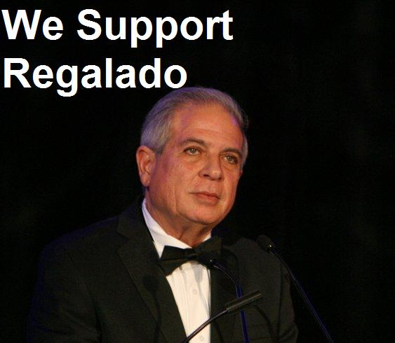 We Support Regalado