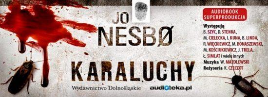 """Karaluchy"""" w formie audiobooka"""