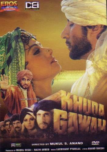 Khuda Gawah 1993 Hindi DVDRip 720p 1.2GB