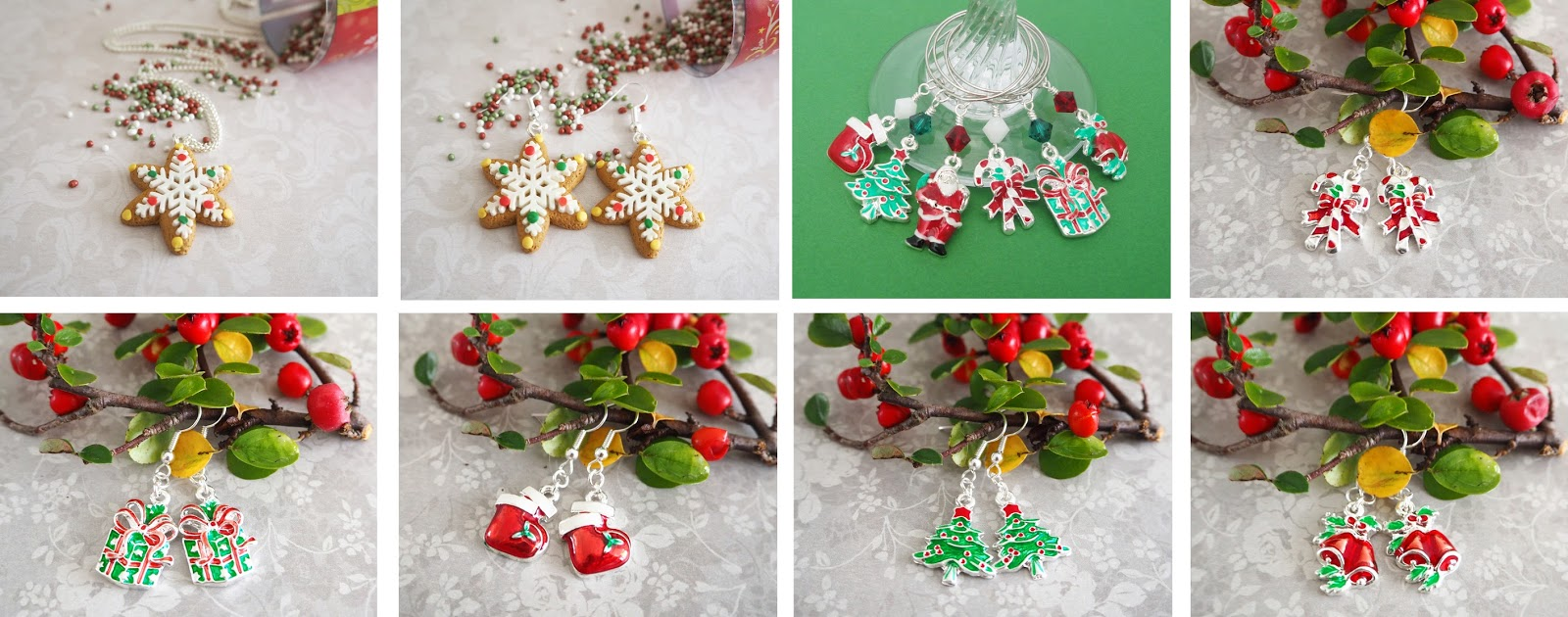 My Beaded Treasures Christmas Jewellery on Etsy | Katie Kirk Loves