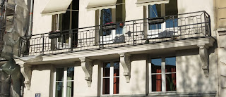 Balcon du 58 quai des Orfèvres