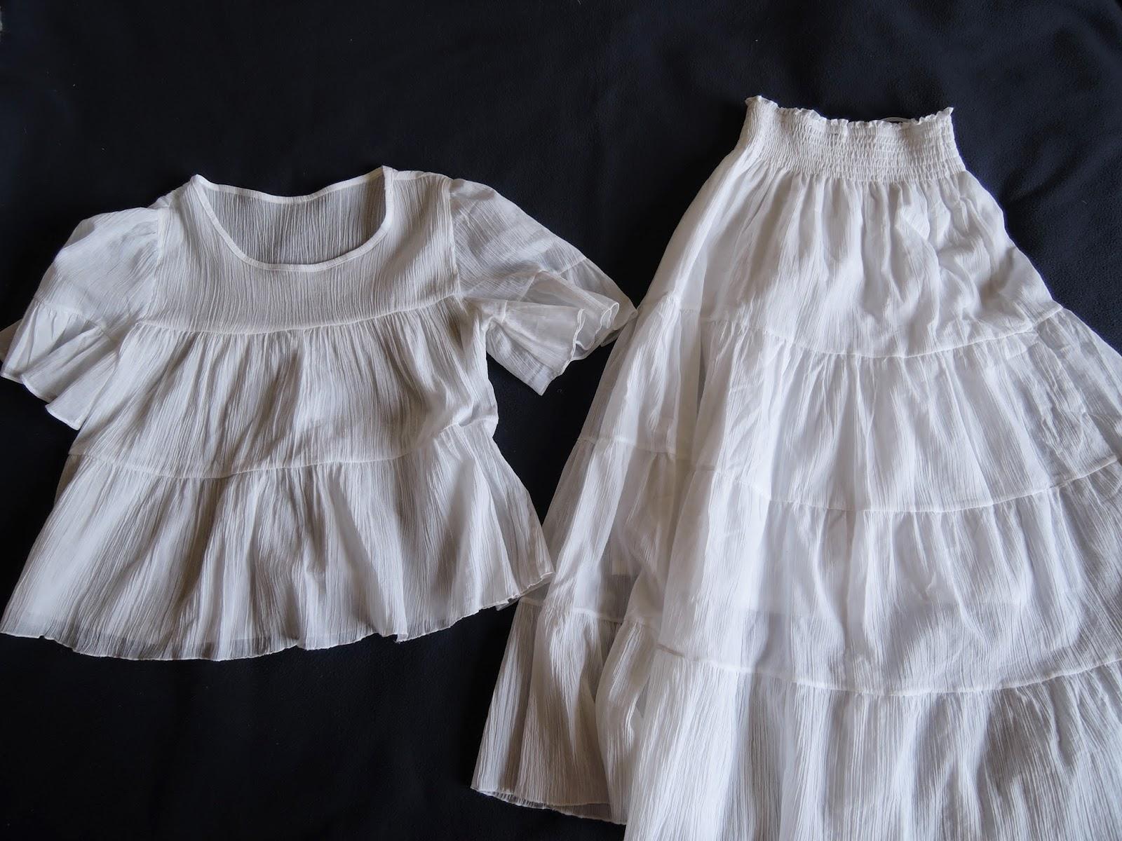 комплект одежды на лето