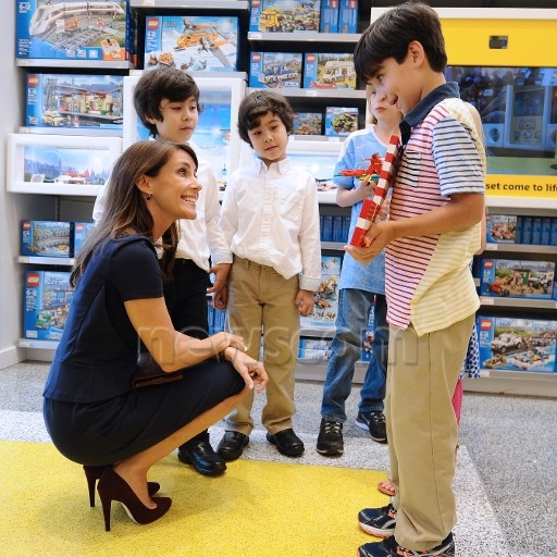 Marie opening a Lego store in NYC is business as usual for the DRF
