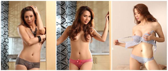 Fines Pena Topless Photos