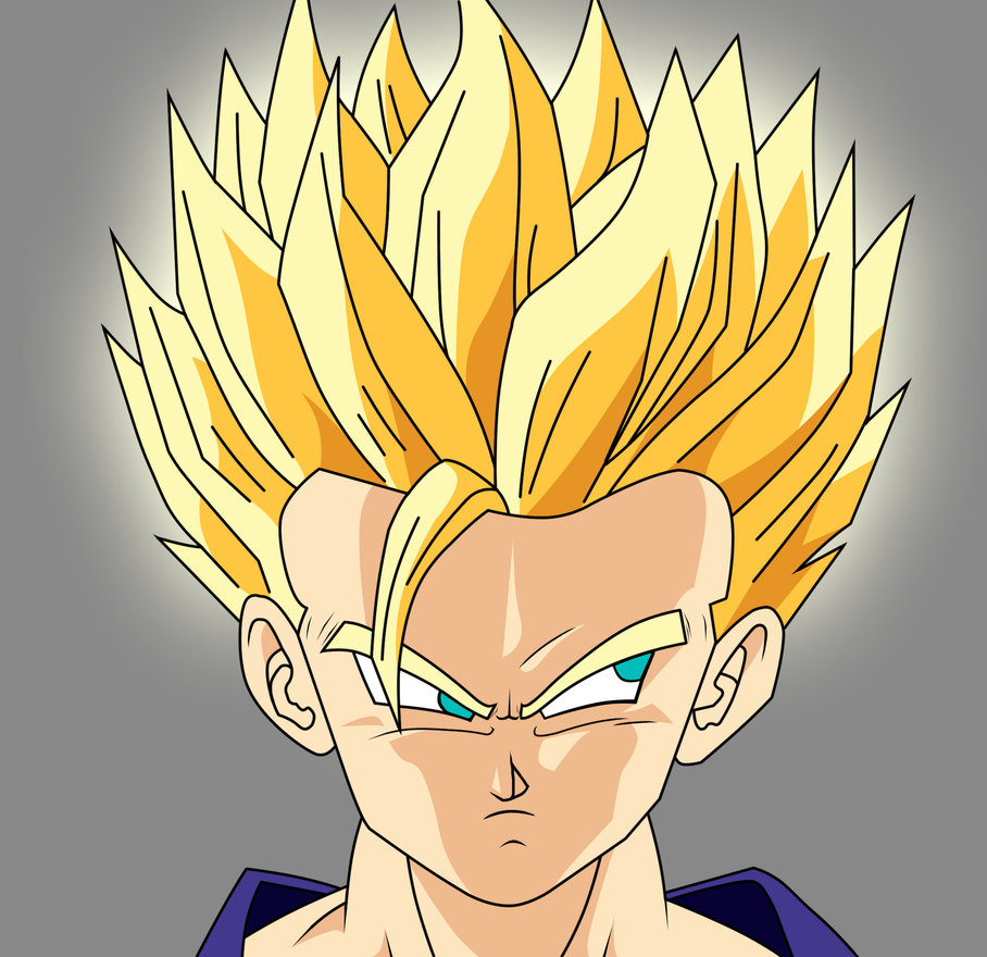 Dragon ball z wallpapers teen gohan super saiyan 2 - Super sayen 10 ...