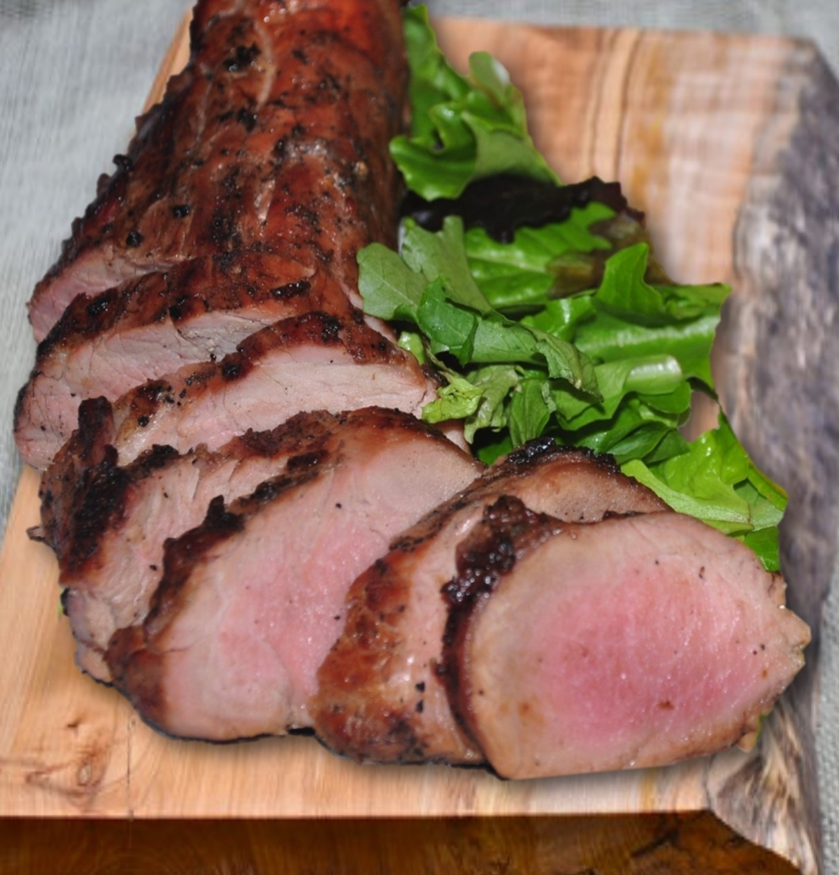 Grilled Pork Tenderloin With Pipian Sauce Recipe — Dishmaps
