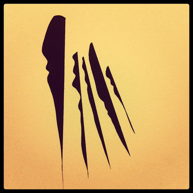 "Lana Fee Rasmussen art, ""Profiles"""
