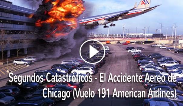 VIDEO IMPACTANTE - Conozca la Historia del accidente del Vuelo 191(American Airlines) en donde murieron 271 personas