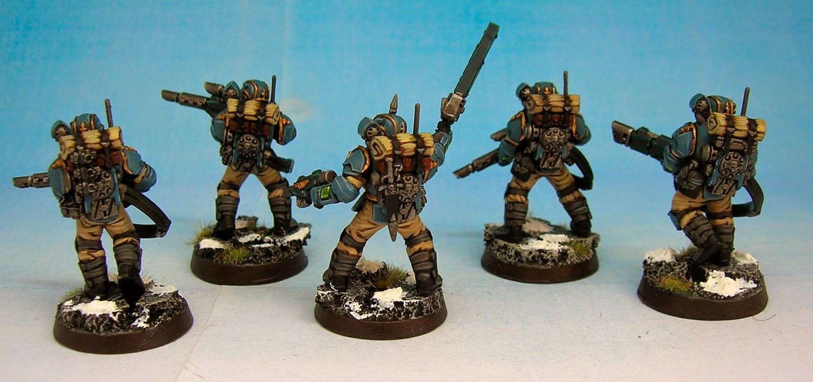 Militarum Tempestus Scions Twitchy Droid Painting Services Militarum Tempestus Warhammer 40
