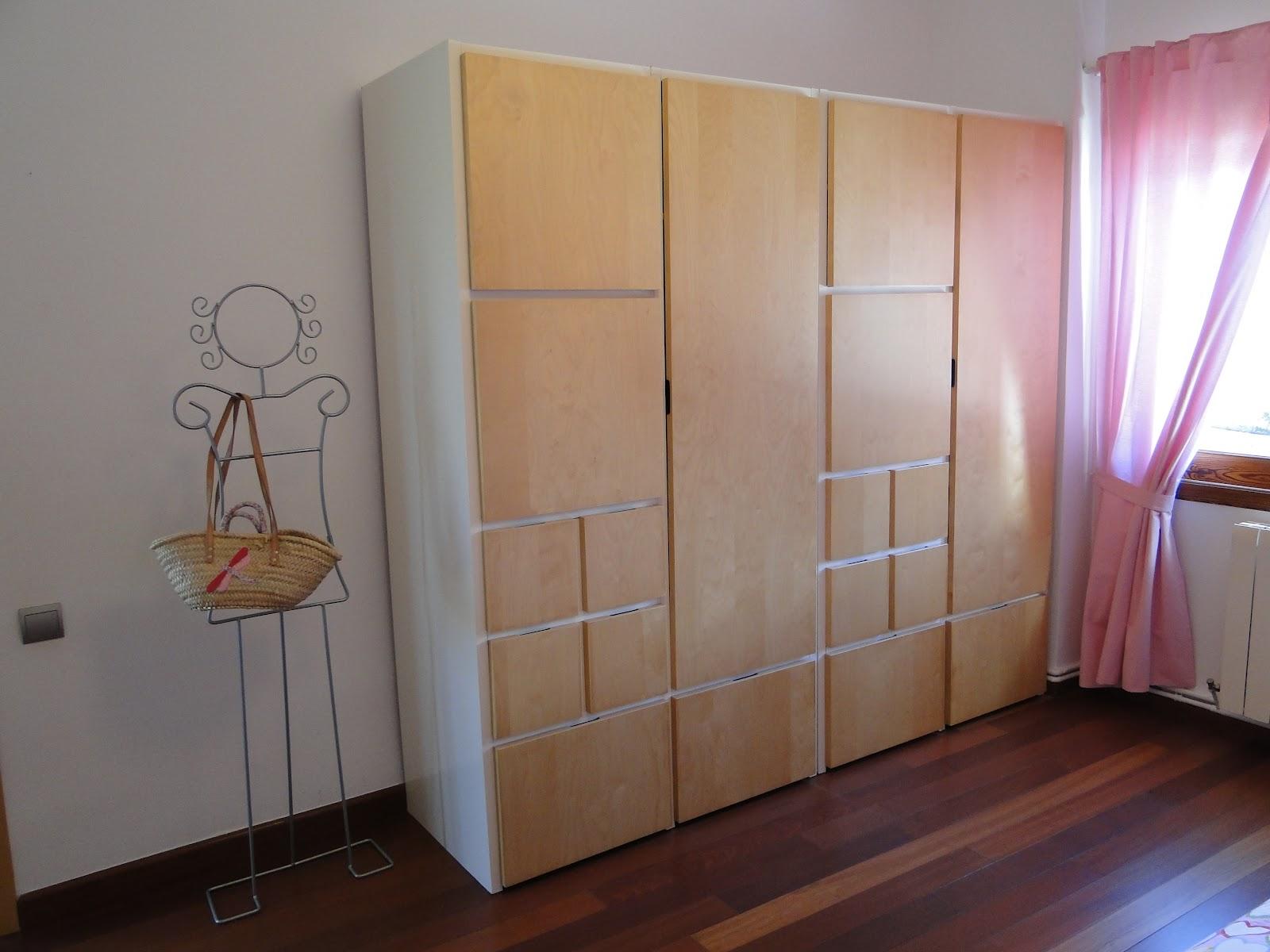 planos low cost: Habitación infantil en rosa.