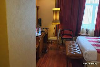 CrownPlaza hotel in Minsk - room interior