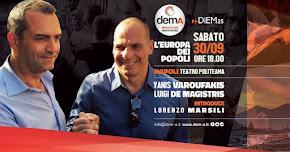 L'Europa dei Popoli, de Magistris Incontra Varoufakis