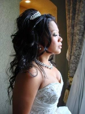 Half up half down wedding hairstyles - hairstyles Half up half down wedding