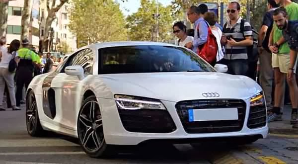 photo of Alexis Sánchez Audi - car