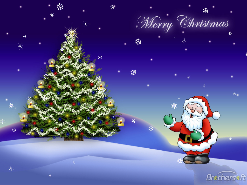 happy  merry christmas wallpapers - Merry christmas wallpaper All free download