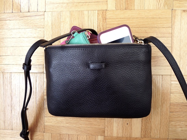 les anti-modernes*: review: the trio crossbody bag