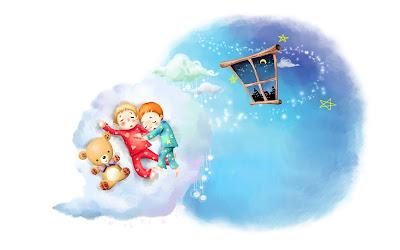 Dulces sueños mis pequeños traviesos - Childhood