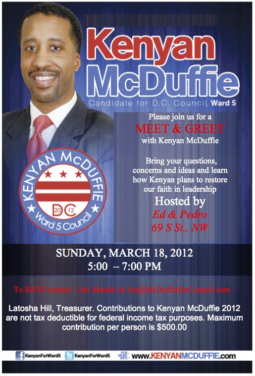 Bloomingdale meet and greet in bloomingdale for ward 5 candidate meet and greet in bloomingdale for ward 5 candidate kenyan mcduffie sunday 03 18 2012 m4hsunfo