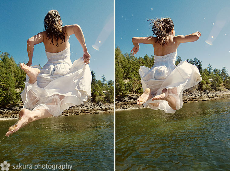 Swell Beauty Blog We Are Loving This Quot Trash The Dress Quot Trend