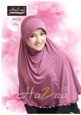 Jilbab Hazna HJ 020