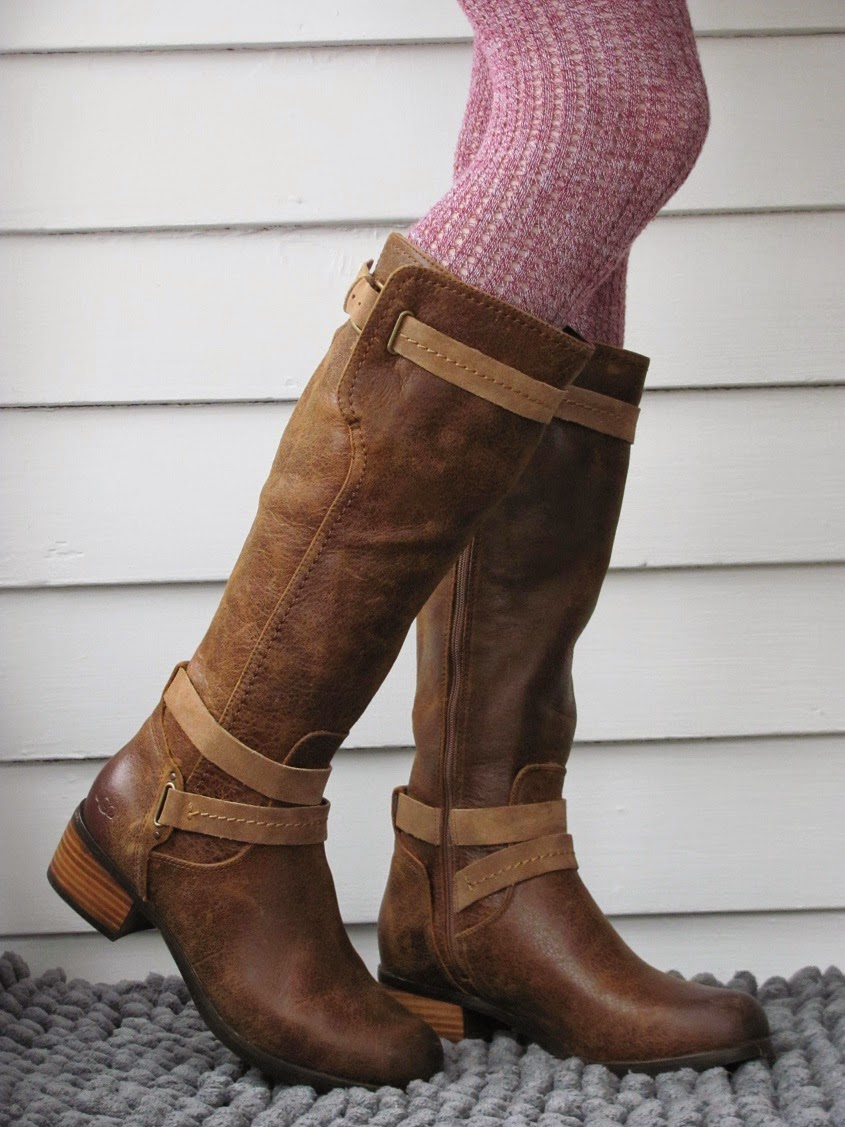 Howdy Slim! Riding Boots for Thin Calves: Ugg Darcie