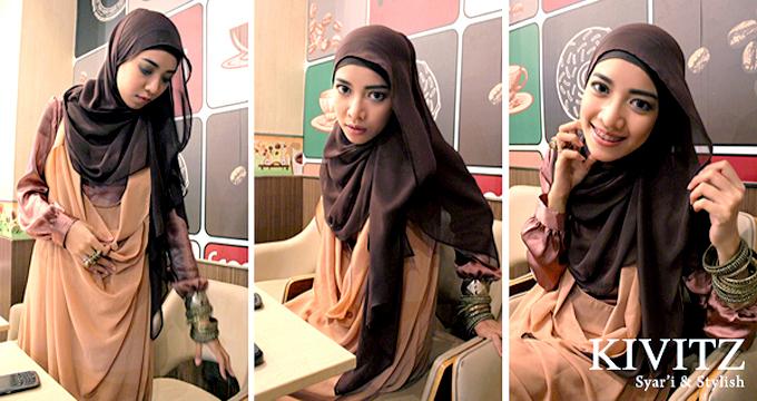 KIVITZ: KIVITZ Hijab Tutorial for Wedding Party