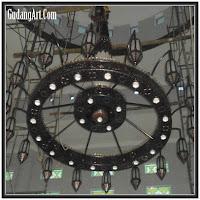 lampu gantung masjid 12