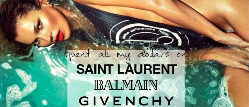 Givenchy, Saint Laurent, Giuseppe Zanotti,  Balmain - 2014 Men Women Online Shoes Spent Dollars