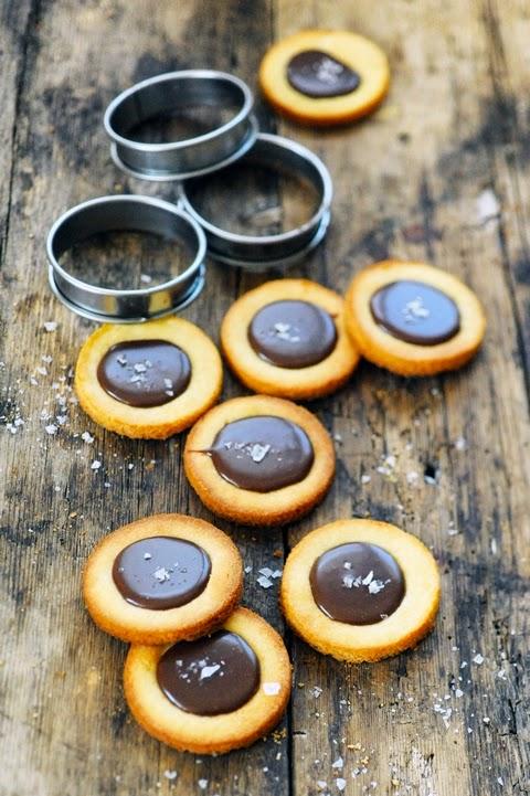 Petits palets au beurre salé et au chocolat caramélisé !