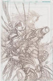 Cyborg by Ivan Reis